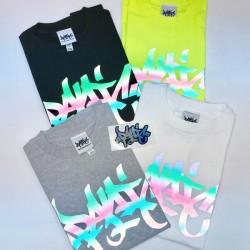 [PANIC39] Rainbow Reflective T-Shirts Type1(Original Logo) (4色)