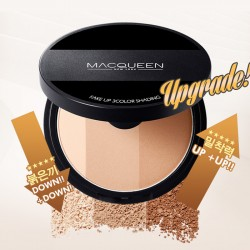 [Macqueen] Fake Make Up 3 Color Shading ( with blush)