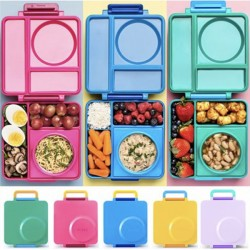 美國 [Omiebox] 保冷保熱三層防漏餐盒(5色可選)