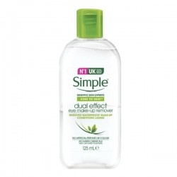 [Simple] Kind to Skin Dual Effect eye Make-Up Remover (125ml)
