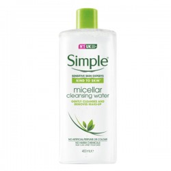 [Simple] Kind to Skin Micellar Cleansing Water 400ml
