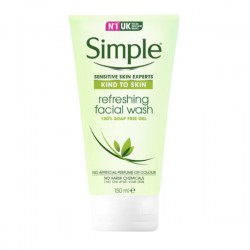 [Simple] Kind to Skin Refresh Facial Wash Gel 150ml