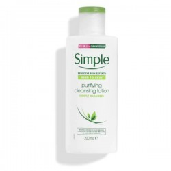[Simple] Kind to Skin Purifying Cleansing Lotion (200ml)