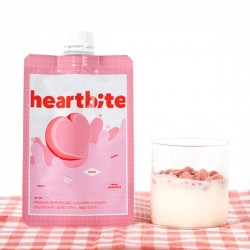 [BellyBully] Heartbite Yogurt Rush Peach (5pack)(Peach)