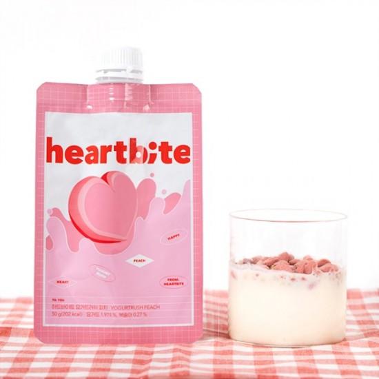 (預購 22/9)[BellyBully] Heartbite Yogurt Rush Peach (5pack)
