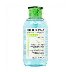 [Bioderma] Sebium H2O (Comb/Oily)  Pump (Green) 500ml