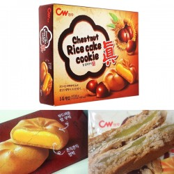 韓國CW Chestnut Rice Cake Cookie (12pcs)