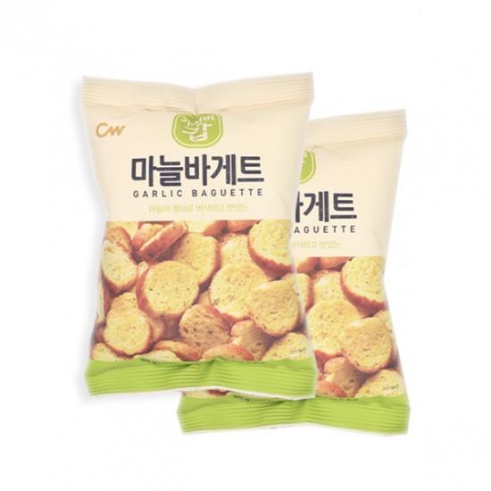 韓國CW 牛油蒜蓉多士 Garlic Baguette ( 55g x 2包 )