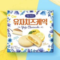 韓國CW 流心柚子芝士蛋糕曲奇 (10個入)