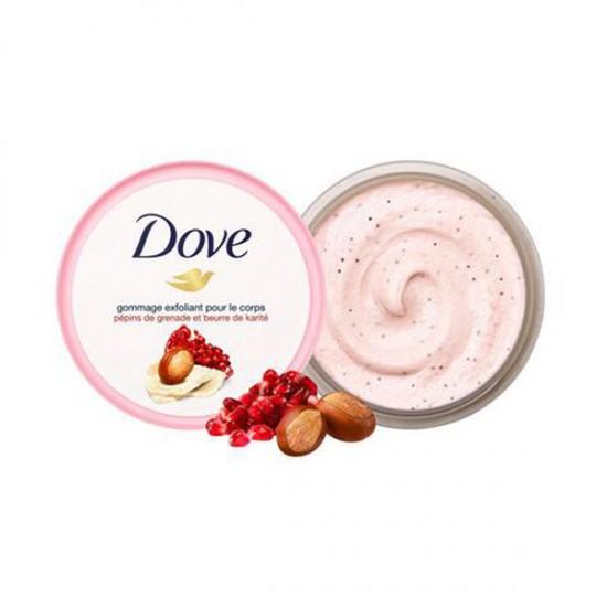 [Dove] Exfoliating Body Polish Pomegranate Seed - Shea butter