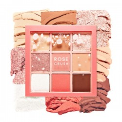 [Etude house] Rose Crush 9色眼影盤