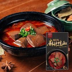 福忠字號 麻辣鴨血 (可直接做火鍋湯底或麻辣燙) | 台灣直送