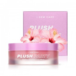 [I Dew Care] Plush Party Buttery Vitamin C Lip Mask 12g
