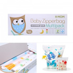 [K-MOM] Baby Zipperbag Multipack (S+M+L+XL)