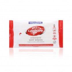 [Lifebuoy] Total 10 Antibacterial Wet Wipes (UK) 10pcs