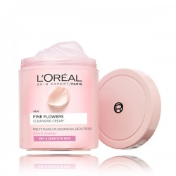 [LOREAL PARIS] Fine Flowers Cleansing Cream 200ml