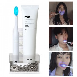 [E:Flash] Me Flash LED Toothbrush & Whitening Toothpaste  SET