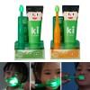 [E:Flash] Me flash 兒童專用潔牙套裝 (綠光LED牙刷 + 防蛀牙膏120g)