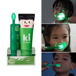 [E:Flash] Me Flash LED Toothbrush & Toothpaste  SET (For Kids)