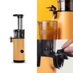 [MOKKOM] 冷壓慢磨原汁機榨汁機(黃色)