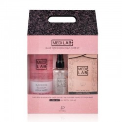 [Medi lab] Black rose Blossom Aqua Water ( Aqua water 500ml + Mist bottle 100ml + Cotton pad 60pcs )
