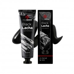 [Paul Medison] Black Lacha Toothpaste (Charcoal Mint)