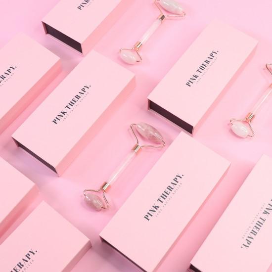 Pink Therapy 天然粉晶按摩棒
