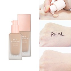 [Rire] Real Foundation SPF50+/PA+++ (2色可選)