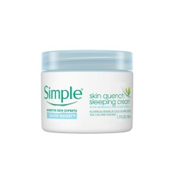 [Simple] Water Boost Skin Quench Sleeping Cream (50ml)