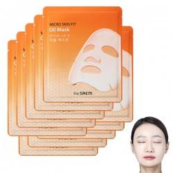 【團購價38蚊】[The Saem] 保濕滋潤精油面膜 (10片裝)(Orange)