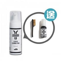 [Y.A.S] 洗鞋泡沫清潔劑-肥皂清香(150ml) 附送60ml 原味套裝連刷