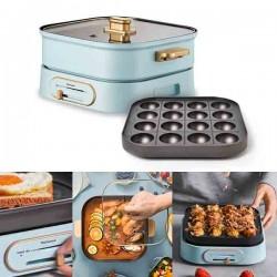 [Yohome] 多功能料理鍋 (免費贈送小丸子烤盤一個)
