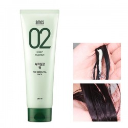 [Amos] 02 綠茶修護滋養護髮膜 250ml