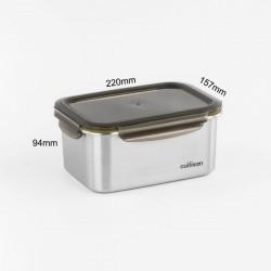 [cuitisan] Signature 不鏽鋼微波爐 保鮮盒 - 長方形 2100ml