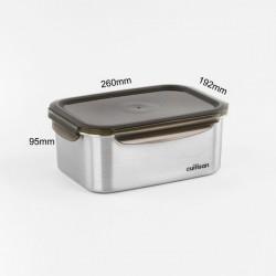 [cuitisan] Signature 不鏽鋼微波爐 保鮮盒 - 長方形 3300ml