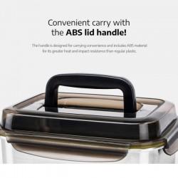 [cuitisan] Signature 不鏽鋼微波爐 保鮮盒 - 手提式長方形 4000ml