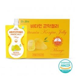 [Dr bio] 維他命蒟蒻啫喱 (Mango) (150ml * 10) 2Kcal