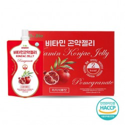 [Dr bio] 維他命蒟蒻啫喱 (Pomegranate) (150ml * 10) 2Kcal