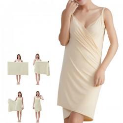 [Ellindo] 微纖維3秒吸濕毛巾裙 (Ivory Original)