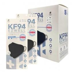 [EZWELL]韓國KF94醫療級3D防疫口罩(50ea) (韓國製造)-黑色