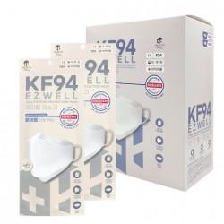 [EZWELL]韓國KF94醫療級3D防疫口罩(50ea) (韓國製造)-白色