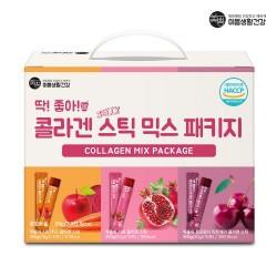 韓國Mippeum 膠原蛋白軟糖 (石榴+櫻桃+ABC汁)(共45條)