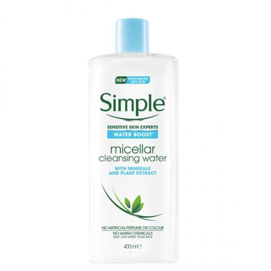 [Simple] 清妍極緻淨化保濕卸妝水 400ml