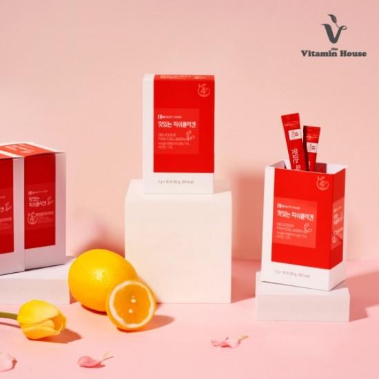 [Vitamin House] 膠原蛋白粉 60g (2gx30條)