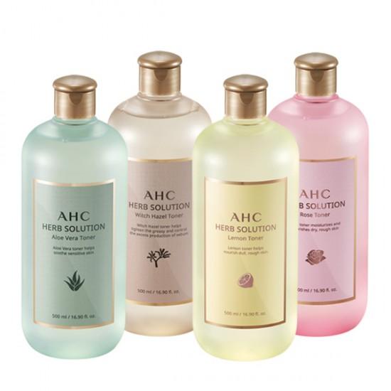 [AHC] 純植物萃取機能化妝水 (500ml)