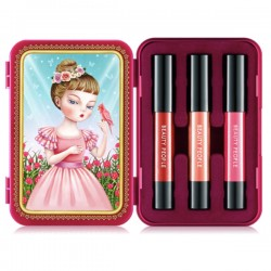[Beauty People] Honey Girl Dollish Lip Special Make-up Set (S3)