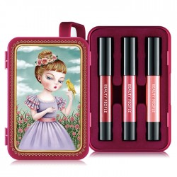 [Beauty People] Honey Girl Dollish Lip Special Make-up Set (S2)