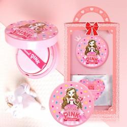 [Daycell] Princess Pink Kids Aqua Sun Cushion