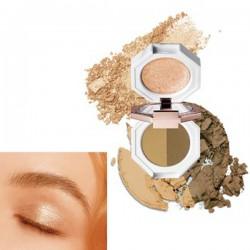[Dear Dahlia] Pradise Dual Palette Eyeshadow (Caramel Slice)