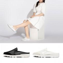 [SNRD] SN258 Bloafer Sandals (white)